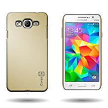 Galaxy Grand Prime Case, CoverON® for Samsung Galaxy Grand Prime Hard Case [Slender Fit Series] Ultra Slim Polycarbonate Back Phone Cover with Matte Non-Slip Grip Coating - Gold