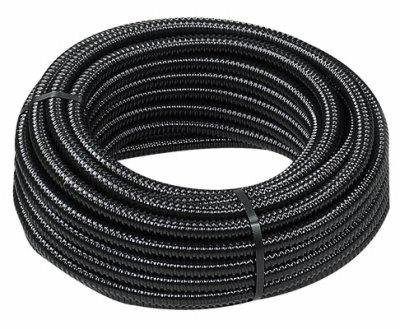 Danner 12404 Reinforced Tubing, Black, 3/4'' x 20'