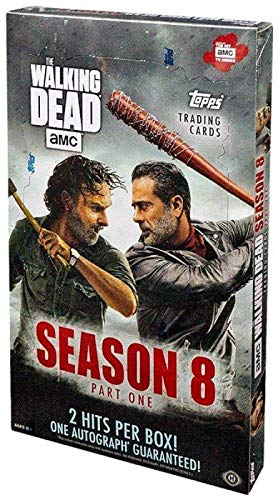 Topps 2018 The Walking Dead: Season 8 Hobby Box