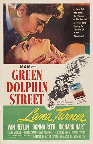 Green Dolphin Street Poster Movie B 11 x 17 Inches - 28cm x 44cm Lana Turner Van Heflin Donna Reed Edmund Gwenn (Lana Turner Poster)