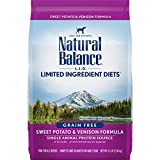 Dick Van Patten's Natural Balance Lid Sweet Potato and Venison Dry Dog Food