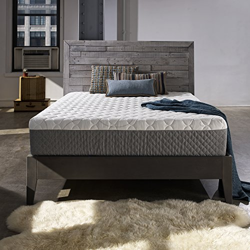 Sleep Innovations Taylor 12-inch Gel Memory Foam Mattress, Made in the USA with a 20-Year Warranty - Queen Size by Sleep Innovations