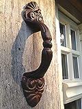 Door Handles (model 2)(hand painted), Cast iron door handles, door handles, iron door handles, cast iron.