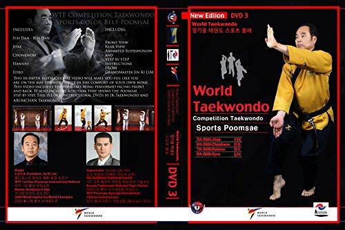 World Taekwondo Sport Poomsae Instructional DVD #3