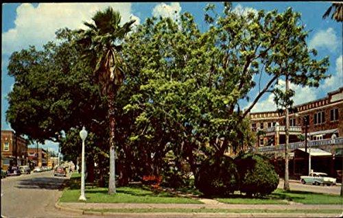 The Mall Looking West Avon Park, Florida Original Vintage - Ridge Mall West
