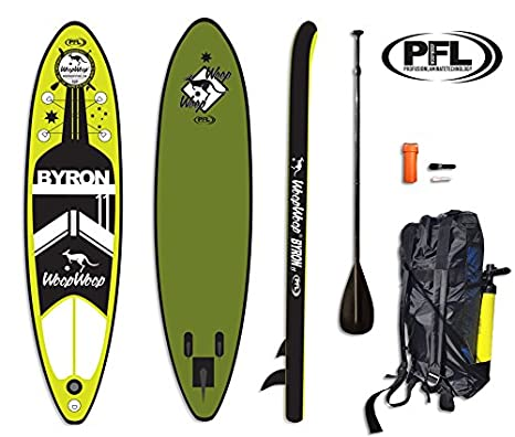 WoopWoop Tabla Paddle Surf Hinchable Byron 11 PFL SUPPFL14 ...