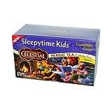 Celestial SEAS -onings - Herbal Tea - Sleepytime Kids Goodnight Grape - Caffeine Free - Case of 6 - 20 Bags