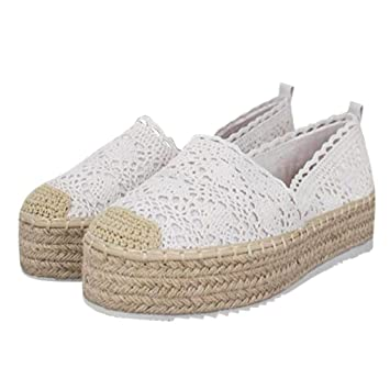 9ae5ec586f2 Amazon.com: ❤ Mealeaf ❤ Women's Hollow Platform Casual Shoes ...