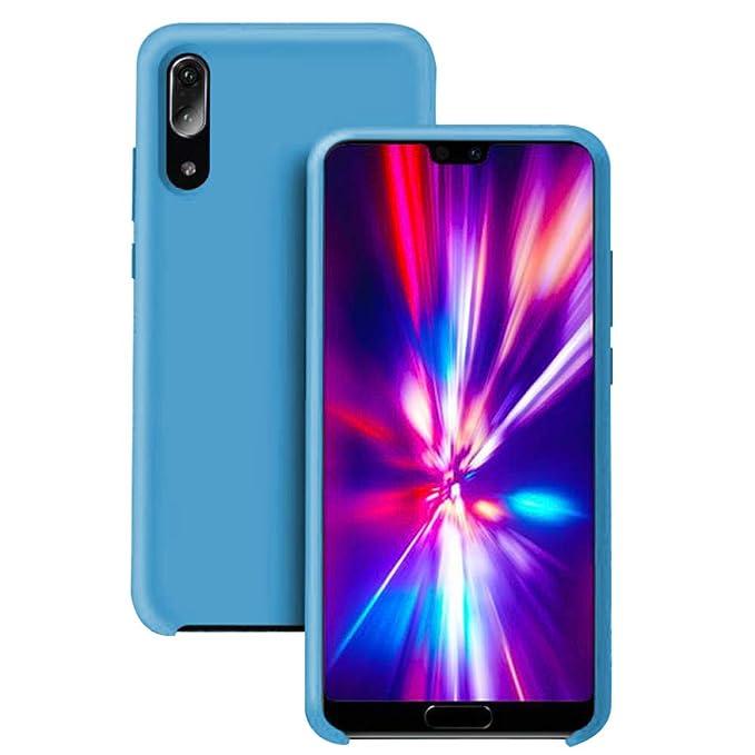 Pacyer® Funda Huawei P20 Ultra Suave TPU Gel de Silicona Case Protectora Suave Flexible teléfono Absorción de Impacto Elegante Carcasa para Huawei P20