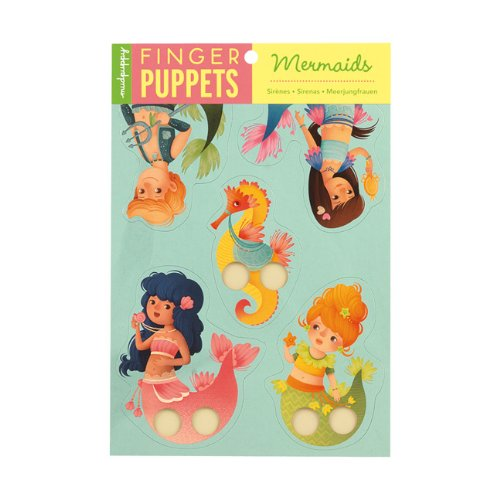 Mudpuppy Mermaids Finger Puppets