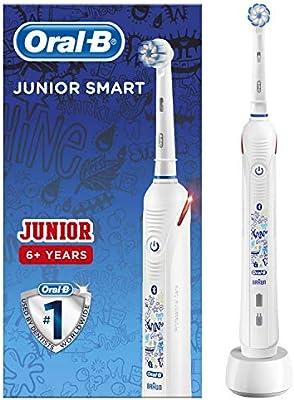 Oral-B Junior Smart - Cepillo Eléctrico Recargable con Tecnología ...