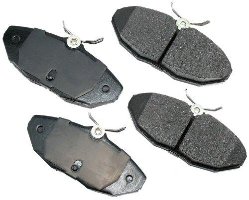 Akebono EUR806 EURO Ultra-Premium Ceramic Brake Pad Set by Akebono