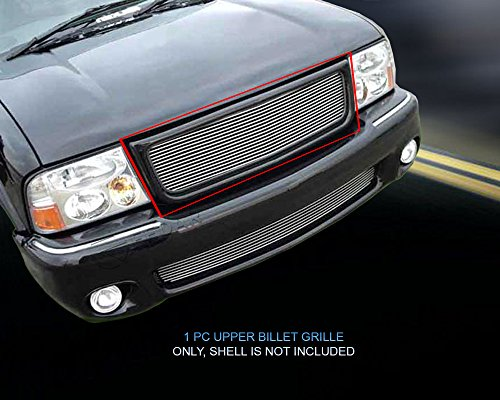 Fedar Compatible With 1998-2003 GMC Sonoma/S-15 Pickup/Jimmy Main Upper Billet Grille Grille 1-pc Set-Polished ()