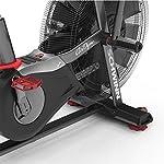 Schwinn-Airdyne-AD8-Bicicletta-da-fitness-professionale-con-resistenza-allaria-console-LCD-con-display-watt-programmi-di-allenamento-HIIT-peso-massimo-utente-160-kg
