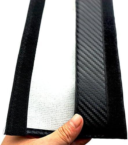 Firemans Pair New Carbon Fiber Seat Belt Cover Shoulder Pad Cushion For A4L A3 A6L Q3 Q5 A1 A6 A7 A8L Q7 S3 S5 RS3 RS6 RS7 tts tt rs All Model Black Sline
