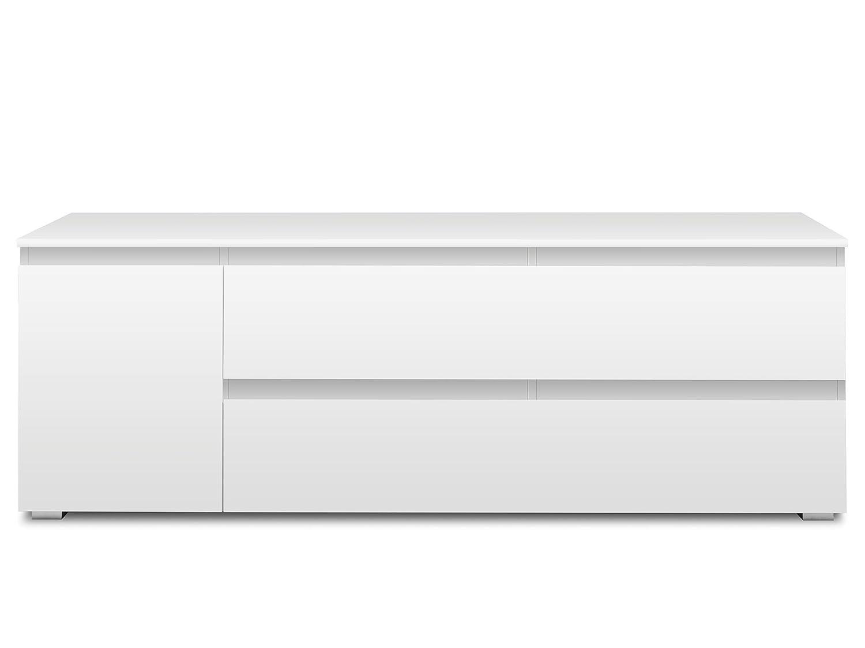 """TV-Lowboard RackUnterschrank Fernsehtisch HiFi Element Schrank /""""Ravenna I/"""""""