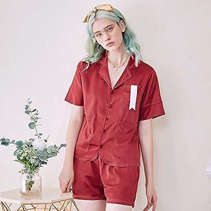 WXIN / Primavera / Verano / Pijamas De Seda Mujer / Traje / Traje De Dos