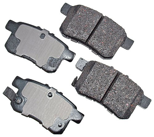 Akebono ACT1336 ProACT Ultra-Premium Ceramic Brake Pad Set