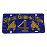 Sigma Gamma Rho Line #4 Number