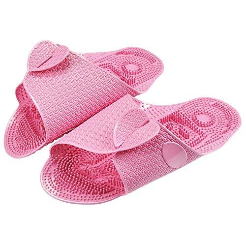 Voyage De L Plage Natation Bluelover slip Seul En Gris Massage Plein Rouge Unisexe Pliable Portable Non Air Épais Pantoufles Epq6T