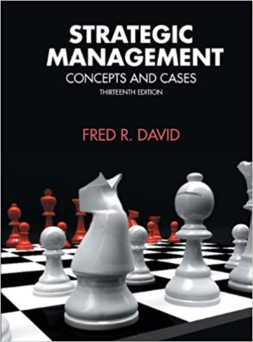 Strategic Management Concepts And Cases 13th Edition Pdf