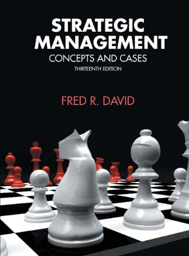Strategic Management  13Th Edition