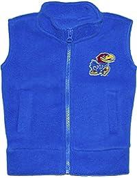 Creative Knitwear University of Kansas Jay Hawks Newborn Infant Baby Polar Fleece Vest