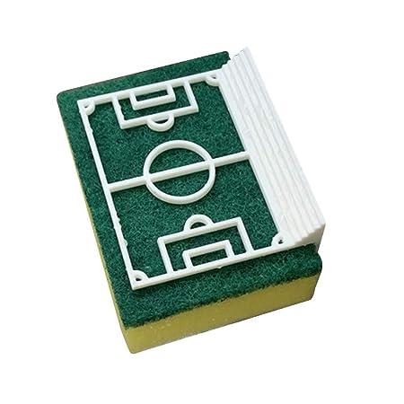 UPKOCH 2 Piezas Soporte de Esponja Forma de Campo de Fútbol ...