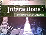 Interactions Level 1 Listening/Speaking Teacher's Edition, Judith Tanka and Paul Most, 0073294195