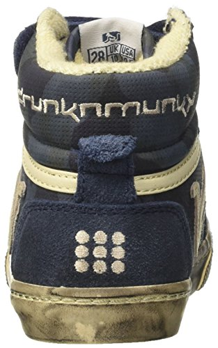 Alto Bambino Navy Camu Collo Sneaker Boston a Blue Blu DrunknMunky XHywTqOKq
