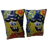 Official Licensed Spongebob inflatable Water wings Arm Floats - Licensed Spongebob nickelodeon Merchandise