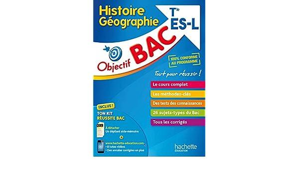 Histoire Géographie Tle ES/L: Collectif: 9782017013020: Amazon.com: Books