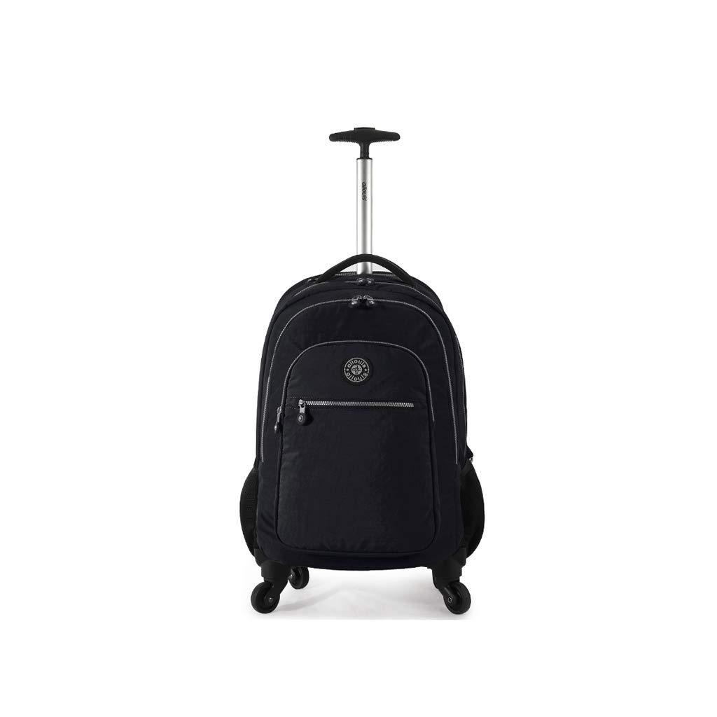 トラベルトロリーリュックサックユニバーサルホイールボーディングスーツケースショルダーバービジネス学生バッグスーツケース (Color : D)   B07K2X2H9Y