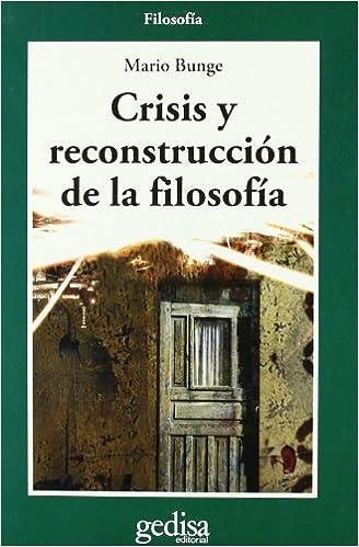 Résultat de recherche d'images pour Crisis y reconstrucción de la filosofía