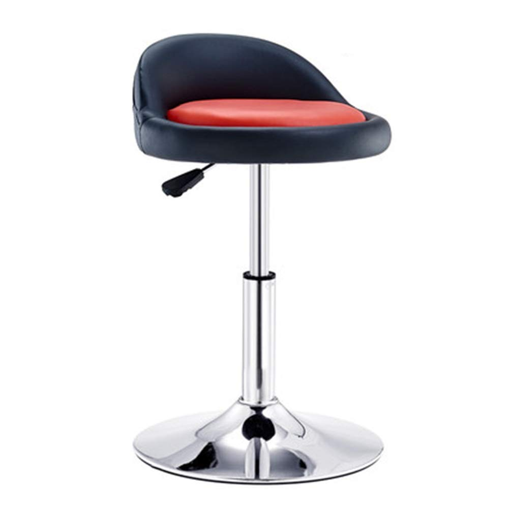 D Bar Chair Simple Lifting redation Armchair Household High Stool Stool 7 colors 1 Size (color   D)