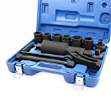 NEW 8pc Socket HD Torque Multiplier Wrench Lug Nut Lugnuts Remover Labor Saving