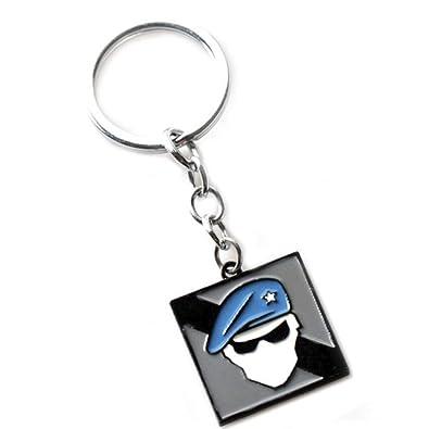 Aember Bk R6 Recruit Keychain And Pendant Necklace Rainbow Six
