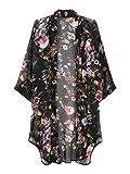 Best Choies Bathing suits - Choies Women's Floral Kimono Open Front Bikini Coverup Review