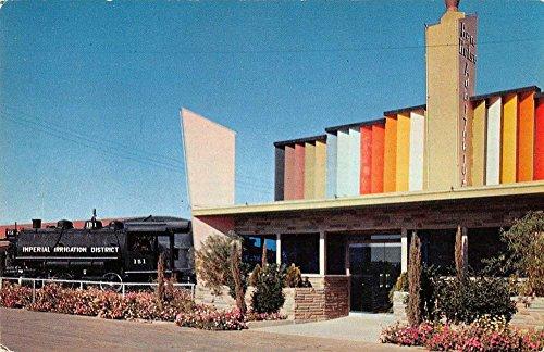 (El Centro California Ben Hulse Auditorium Street View Vintage Postcard K35682)