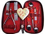 Manicure-Set-Women-Premium-Quality-Nail-clippers-toenail-clippers-nail-file-tweezers-cuticle-trimmer-personal-scissors-Professional-grade-nail-set-precision-tools-BEST-VALENTINES-DAY-GIFT-EVER