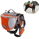 Adjustable Dog Backpack Saddlebags Santune Pet Saddle Bag...