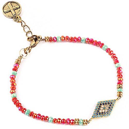 Glass Bead Bracelets - 5