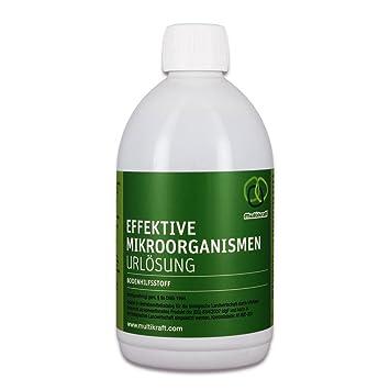 Efectiva microorganismos urlösung (EM de urlösung) Botella de 0,5 l – Para