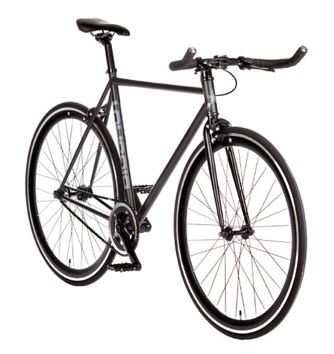 Big Shot Bikes | Dublin Black | Fixie Track Bike | Single Speed or Fixed Gear |...