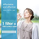 AQUACREST WFFMC303X Faucet Water Filter, Compatible