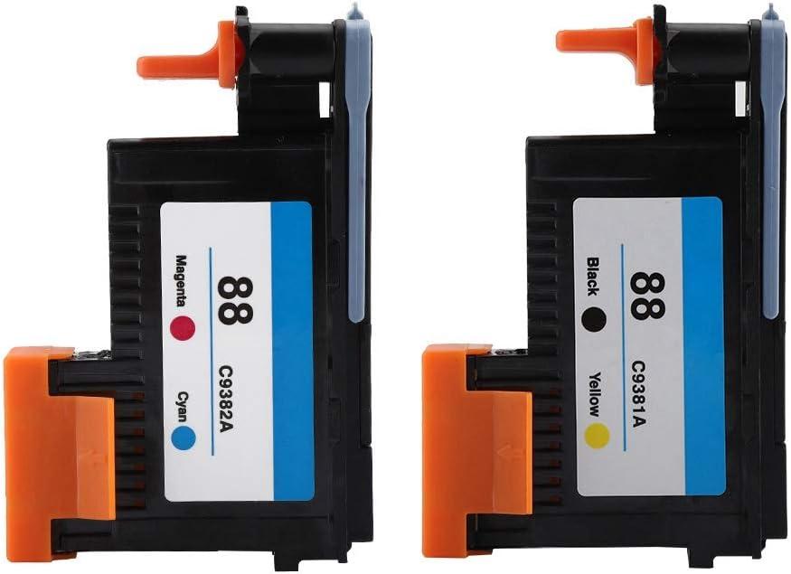 ASHATA Printhead for HP 88 C9381A C9382A for K5300 K8600 L7380 Series(CMYK)