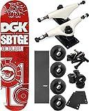 DGK Skateboards Sabotage Skateboard 7.56'' x 32'' Complete Skateboard - Bundle of 7 items