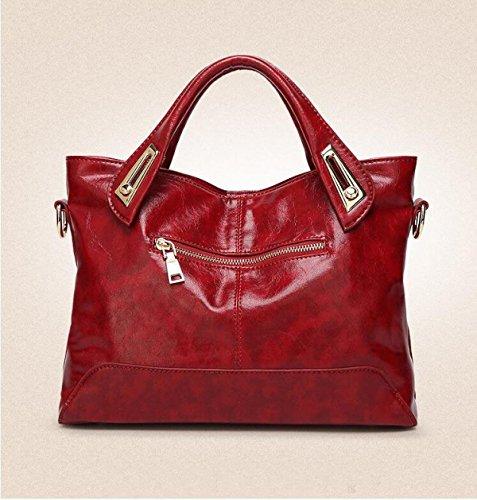 Retro Red Bag Coreana Tracolla Messenger Myll Signora Borsa A Borse wSqABA