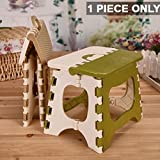 Kurtzy® Foldable Step Stool For Kids & Adults, Kitchen Garden Bathroom Stepping Stool,holds up to 150 KG(30X24X24 CM)