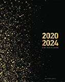 2020-2024 Five Year Planner-Gold Glitter: 60 Months Calendar, 5 Year Monthly Appointment Notebook, Agenda Schedule Organizer Logbook and Business ... Federal Holidays